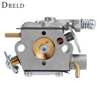 DRELD Replacement Chainsaw Carburetor Carb Tool Parts For Walbro WT 826 Carburetor Chainsaw Spare Parts Garden