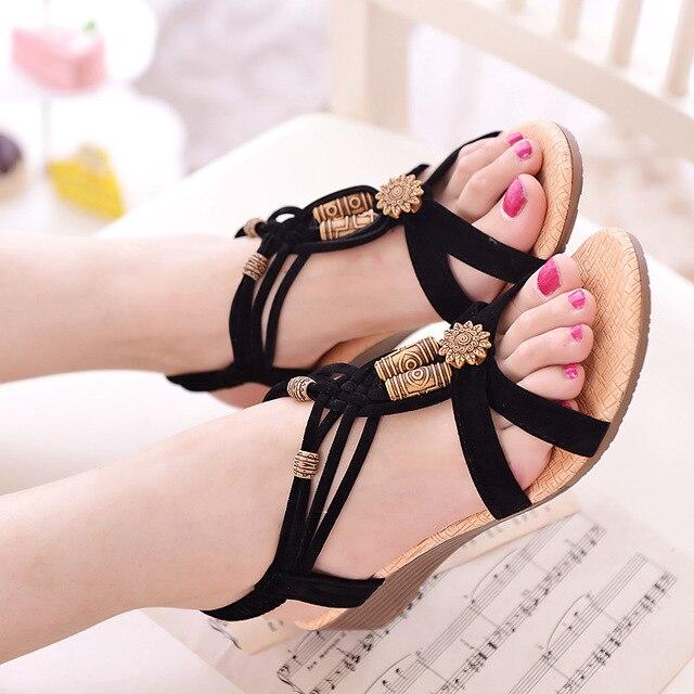 7b95551e0aabc Women shoes stylish new hot women sandals 2018 All-match fashion summer  shoes wedge heels ladies shoes sandals women