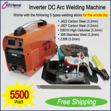 New Welder Inverter 200 AMP DC Arc Welding Machine Stainless /Carbon Steel Portable Equipment ZX7-200T