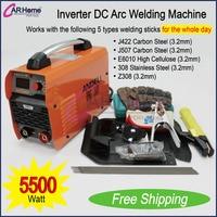 New Welder Inverter 200 AMP DC Arc Welding Machine Stainless Carbon Steel Portable Welding Equipment ZX7