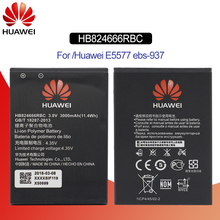 Original Battery For HUAWEI HB824666RBC 3000mAh For Huawei E5577 EBS-937 EBs-937 LTE 4G WiFi Router Replacement Phone Battery стоимость
