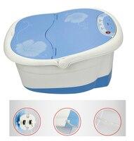 Стопы Для ванной массажер для ног spa вибрации пузыря тепла и массаж ног spa массаж машина