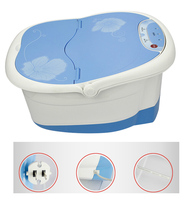 Foot Bath Massager Foot Spa Vibration Bubble Heat & Massage Foot Spa Massage Machine