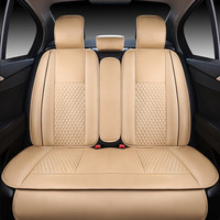 New Luxury PU Leather Auto Universal Car Seat Covers Automotive Seat Covers for The skarusskoda Volvo hyundai suzuki