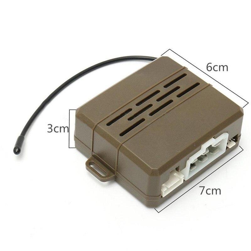 1 Set système d'alarme Auto en toute sécurité PKE entrée sans clé verrouillage centralisé bouton poussoir allumage moteur démarrage/arrêt moteur à distance universel - 4