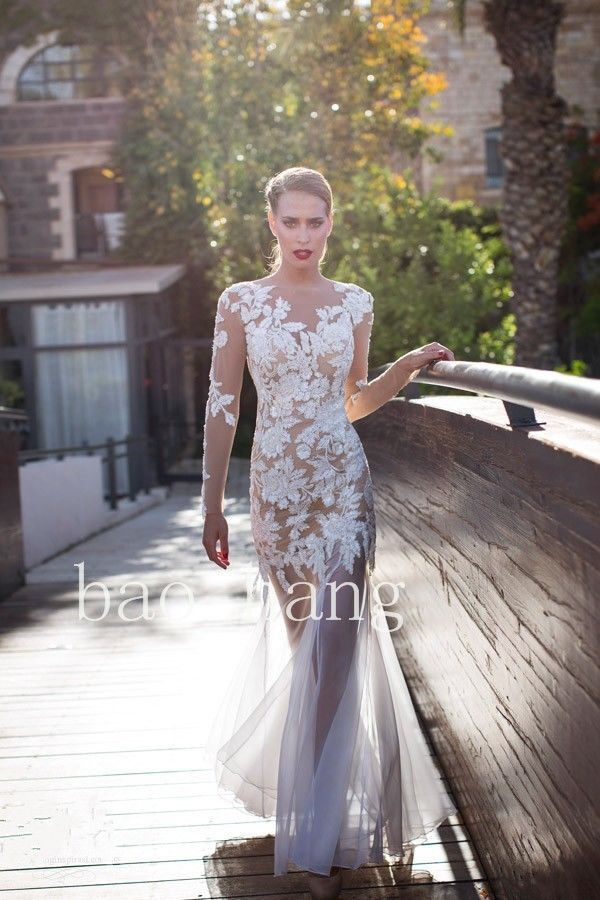 Online Buy Wholesale sexy transparent wedding dresses from China ...