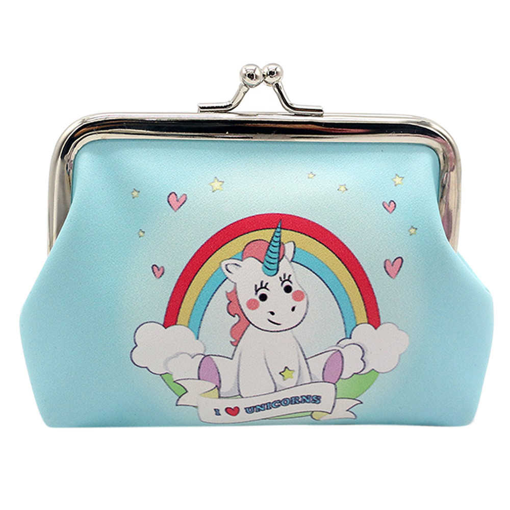 Women Girls Cartoon Snacks Coin Purse Wallet Bag Change Pouch Key Holder bags for women 2017 Female Fashion Cute Coin Purses A8