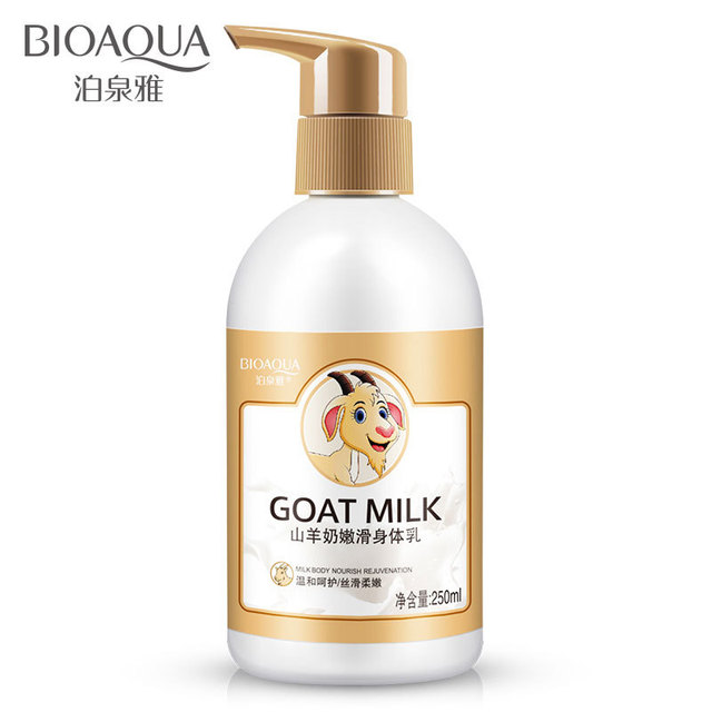 Bioaqua Goats Milk Tender Body Lotion Body Cream Skin Care Anti
