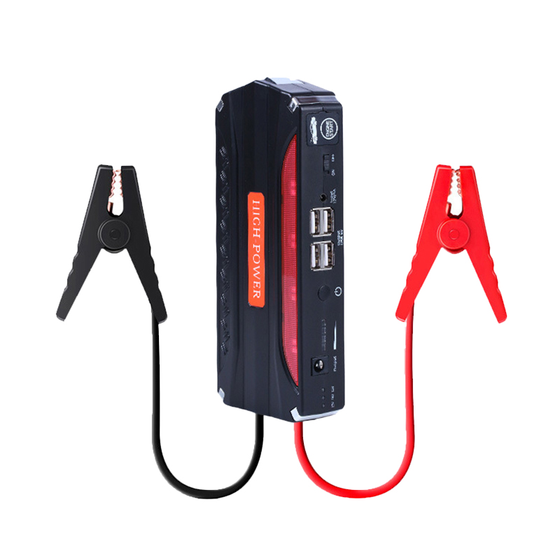 JUEFAN Mini Portable 12V Car Battery Jump Starter Auto Jumper Engine Power  Multi-function