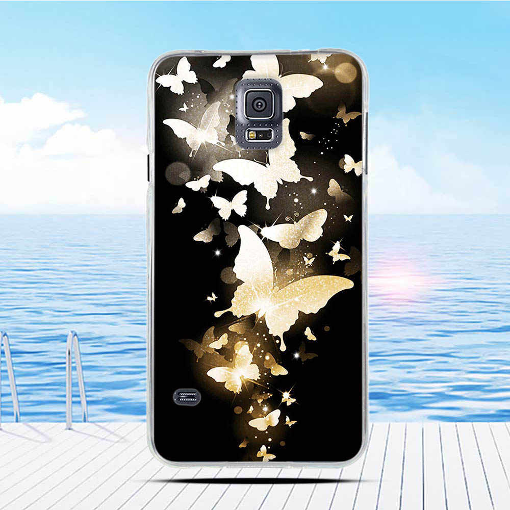 Voor Telefoon Geval Samsung Galaxy S5 Cover Zachte Siliconen Leuke Case Voor Samsung S5 Neo Case I9600 G900 G900F Funda terug Coque Tas
