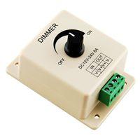 10PCS 12V 24V DC 8A Single Color LED Dimmer Switch Brightness Controller for Led Lamp Strip Light