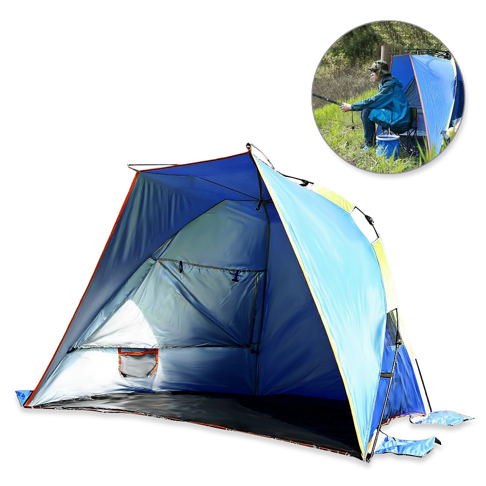 Camping Tent Automatic Instant Waterproof Tent for  3 - 4 Person with Carry Bag for Backpacking, Hiking, BeachCamping Tent Automatic Instant Waterproof Tent for  3 - 4 Person with Carry Bag for Backpacking, Hiking, Beach