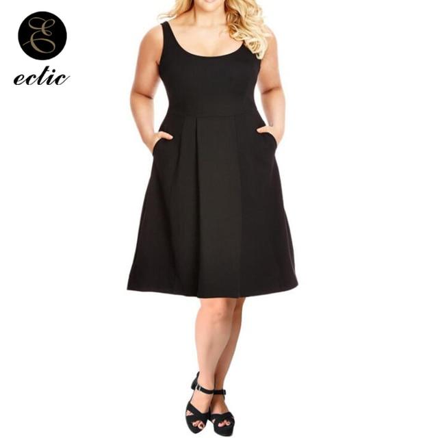 Midi A Line Dress Fat For Women Plus Size 100kg Sukienka Tumblr