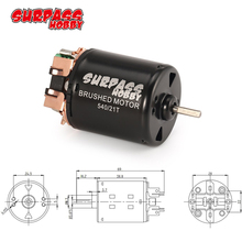SURPASS HOBBY 540 21T Brushed Motor 3.175mm Shaft for 1/10 RC Off road Racing Car Vehicle