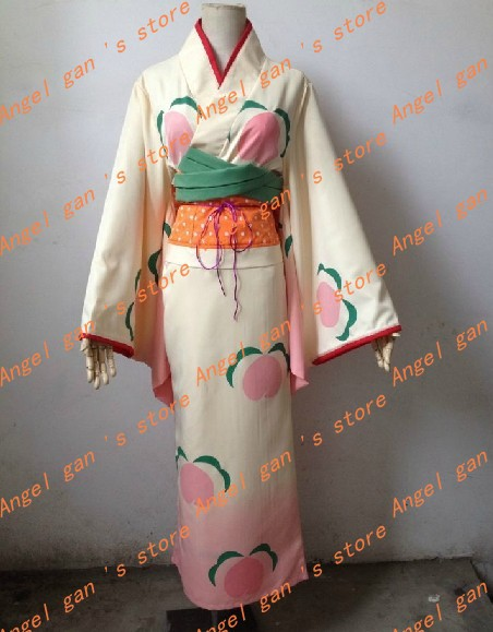 free shipping 2014 Customized new Japan anime Hoozuki no Reitetsu bathrobe kimono gradient Cosplay Anime Partycosplay costume