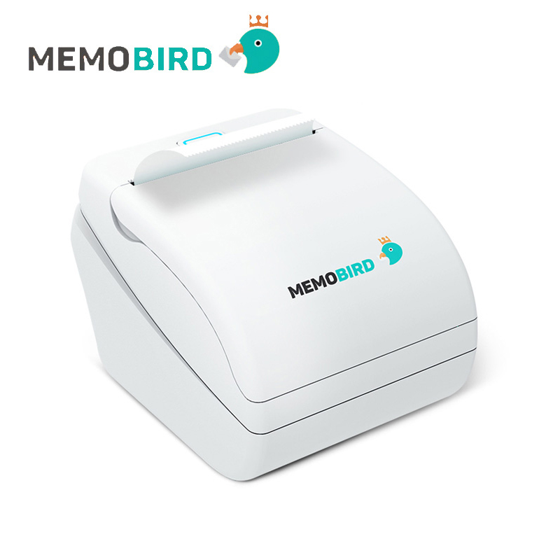 MEMOBIRD 58mm Thermal Printer Wifi pocket printer thermal Micro USB POS Interface Photo Printer EU plug