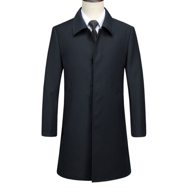 Men Boutique Trench Coat...