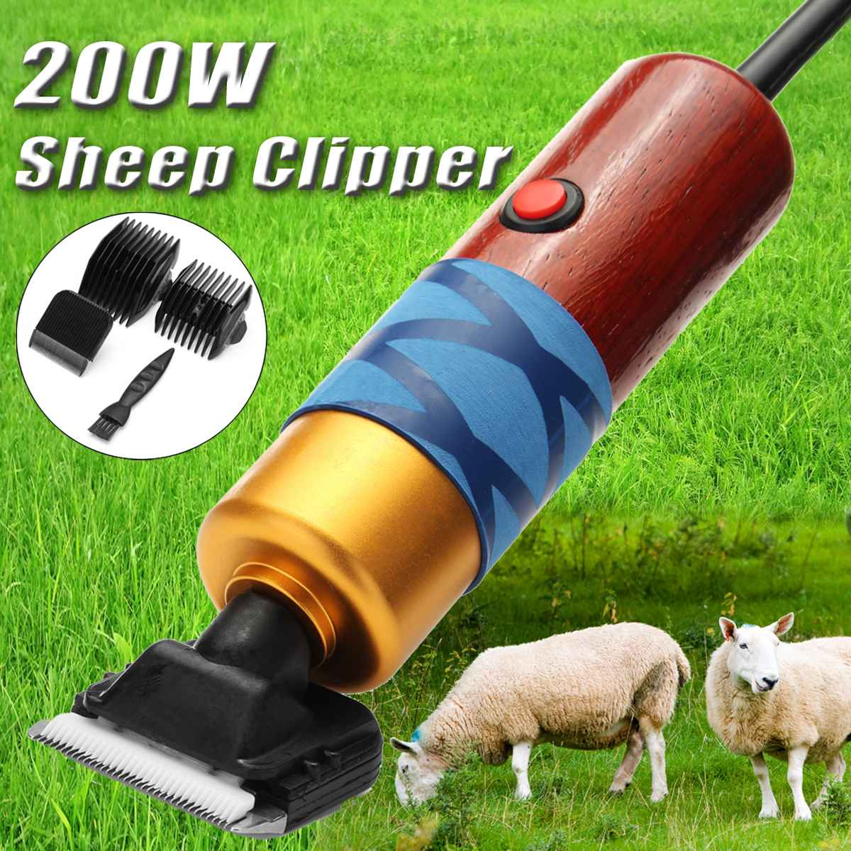 Pet Dog Grooming Professional 100 Clipper Tools Dog Grooming 200W Rabbit Electric 240V Kit For Sheep