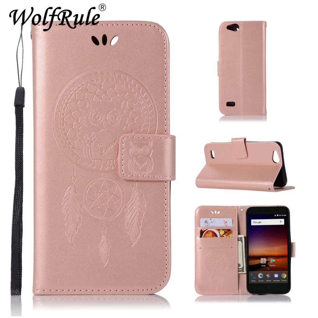 best loved 4e749 99a80 US $3.08 24% OFF|WolfRule For Cover ZTE Tempo X N9137 Case Flip Leather  Case for ZTE Blade Vantage Z839 / Avid 4 Z855 Phone Bag Cover Wallet  Case-in ...
