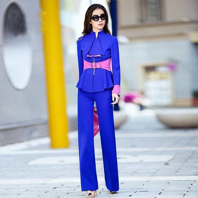 Free shipping occupation slim small suit  the new style  spring clothing women's knitwear coat with falbala and slide fastener