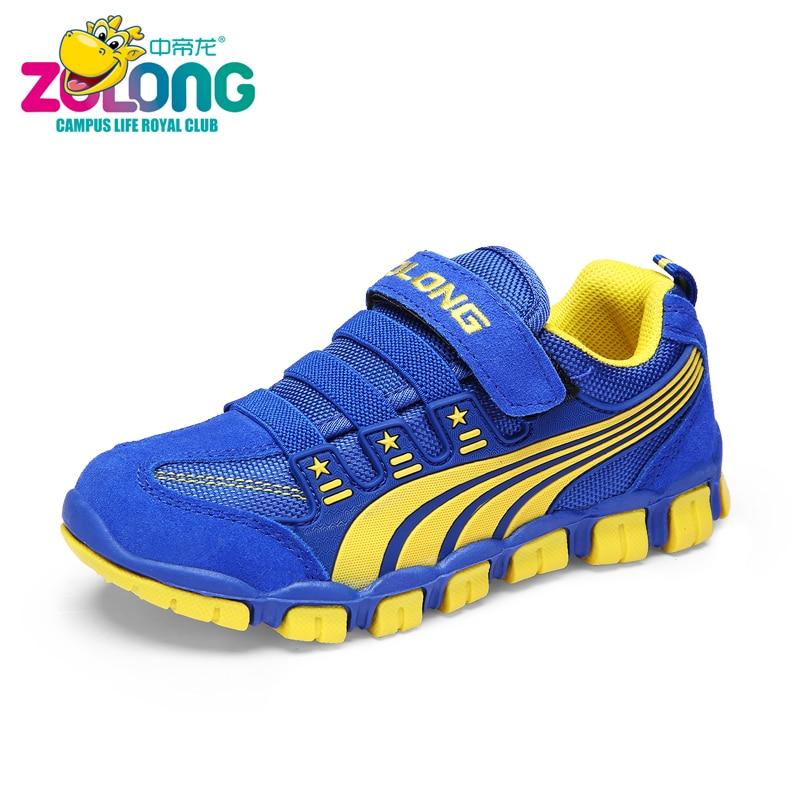 ZDLONG Children Boys Girls Kids Shoes Tenis Masculino Brand Walking School Sport Sneakers Running Barefoot Chaussure Enfant