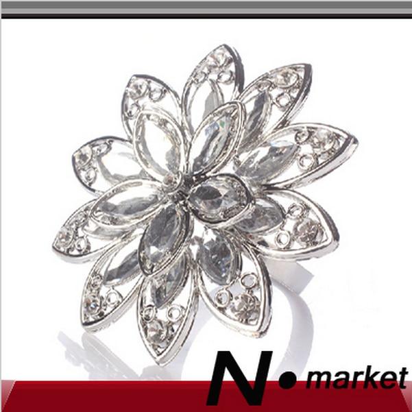 Crystal Diamond Napkin Rings