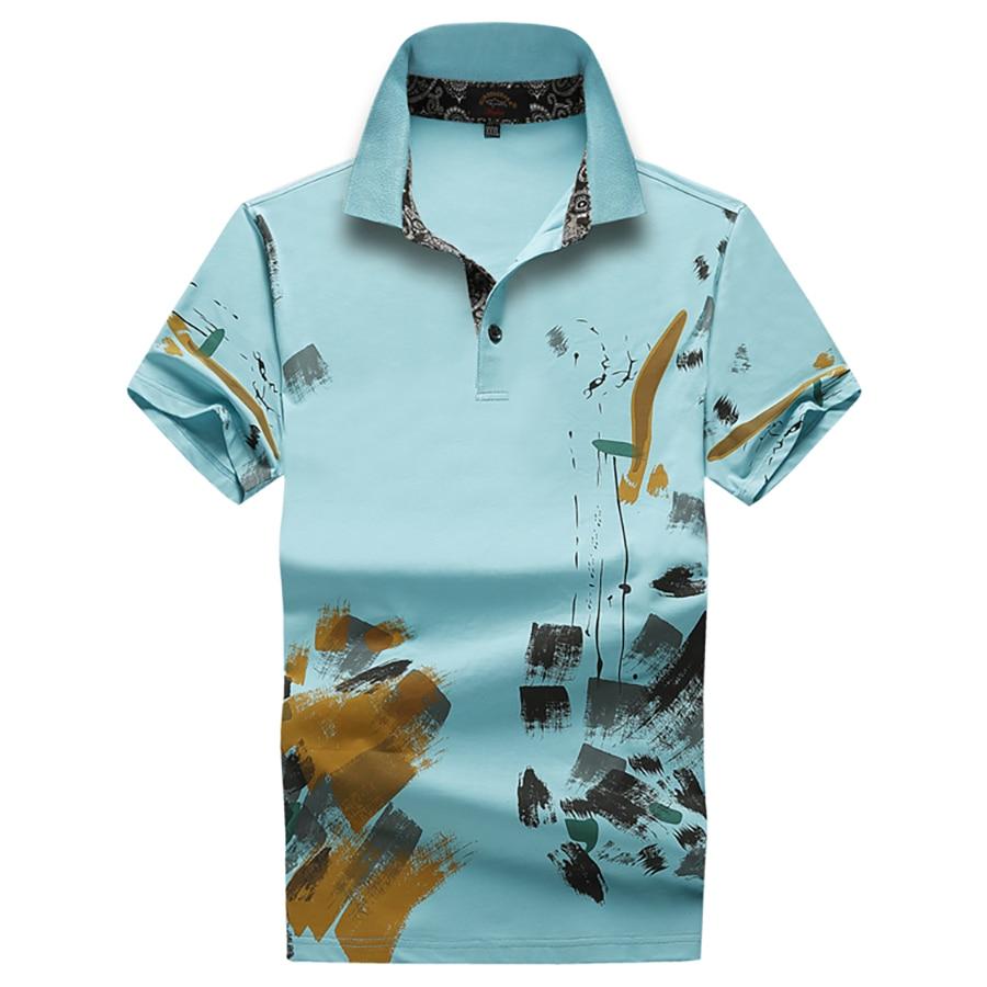 Polo Shirt Men Cotton Short Sleeve Breathable Streetwear Men Polo Shirts Vintage Poloshirts China Style Summer Tops 6P