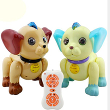 Intelligent Machine Dog Huanhuan Music Voice Control Electric Remote Toy Anti-Real Early Education Model