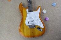 Brand New Alta Qualidade HSS Pickups Rosewood Fingerboard Stratocaster Da Guitarra Elétrica Guitarra Strat Padrão Chrome Hardware