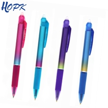 24pcs/set Cute Erasable Pen Washable Handle 0.5mm Blue/Black Press Gel for Girl Boy School Office Supplies Stationery