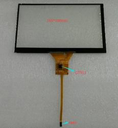 Navegação do carro DVD 165*100mm 164*99mm 6pin gt911 capacitor tela sensível ao toque.