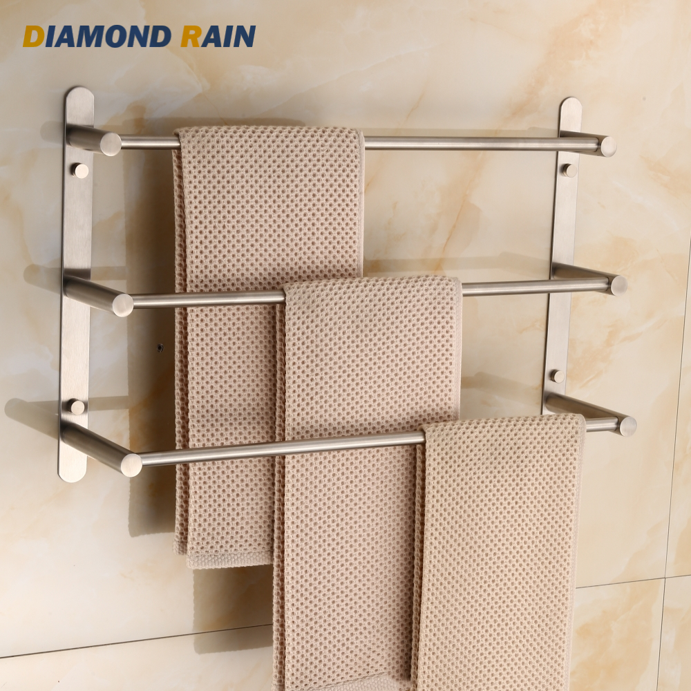 Stainless Steel Brushed Nickel Square