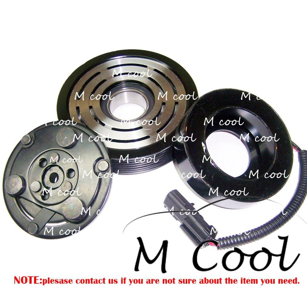 High Quality Brand New Automobile AC Compressor Clutch ASSY For Car Jeep Liberty 2002 2005 3.7 Liter 55055517AI 55037466AE 4825