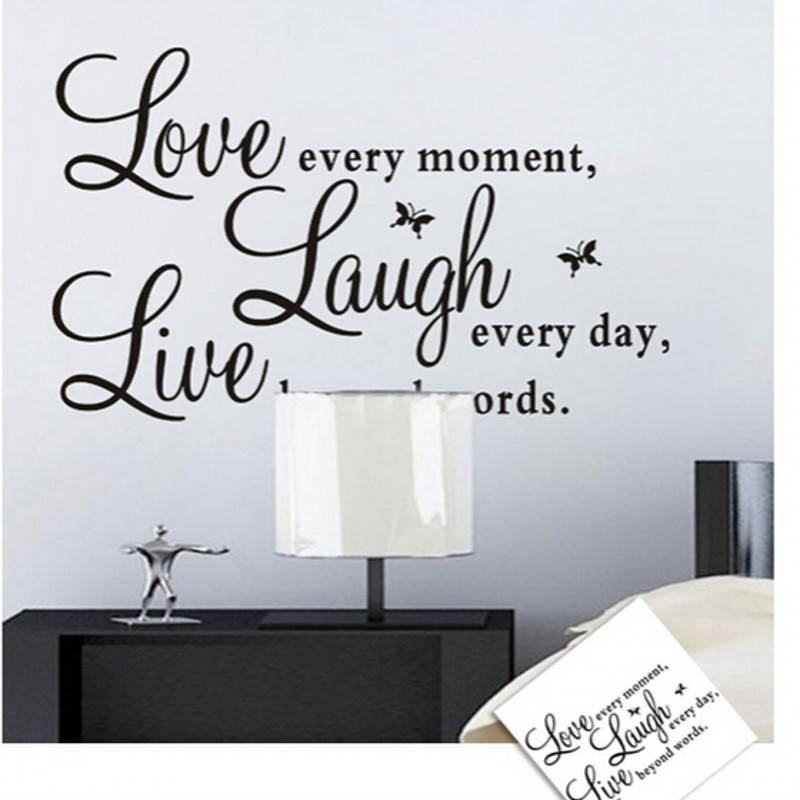 new pc lot beauty art word wall sticker paper wall decal