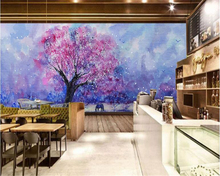 beibehang papel de parede Chinese style hand-painted simple flower tooling background wall wallpaper hudas beauty