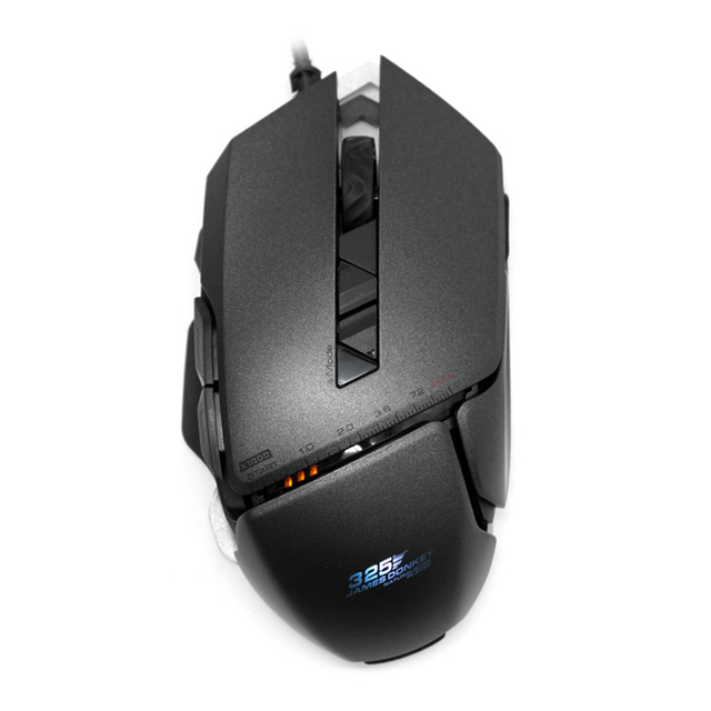 Professional 325RS USB Wired Laser Game Mice with 4 Adjustable 7200DPI 7 Buttons Gaming Mouce For PC Laptop Desktop Souris gamer