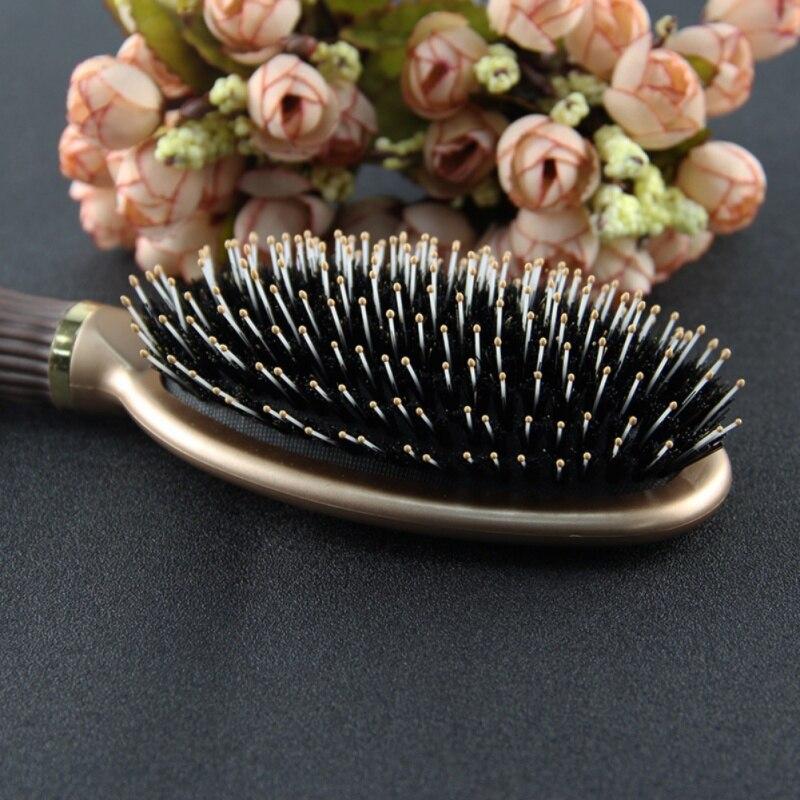 Для женщин про волосы Макияж инструмент ежедневного использования щетины Мане Кисточки Профессиональный антистатические Инструменты для ...