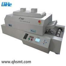 Qihe Bench Top Soldering Machine SMT Machine T960 Pcik and Place Machine LED Infrared Reflow Oven