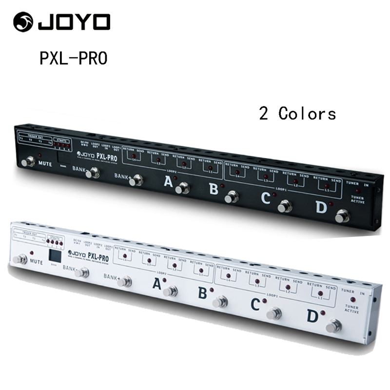 JOYO PXL-PRO Programmable Guitar Pedal Effects Looper Control Station Pedal Switcher Grouping System with 32 Effects SetsJOYO PXL-PRO Programmable Guitar Pedal Effects Looper Control Station Pedal Switcher Grouping System with 32 Effects Sets
