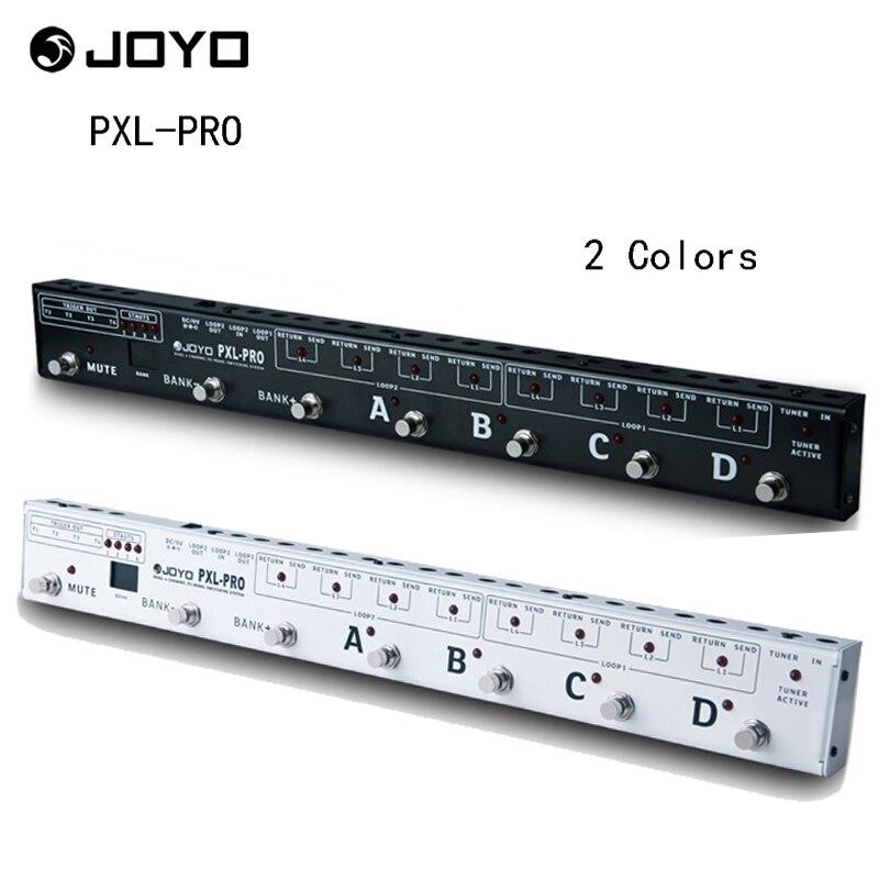 JOYO PXL-PRO Programmable effets de pédale de guitare Looper poste de contrôle commutateur de pédale système de regroupement avec 32 jeux d'effets