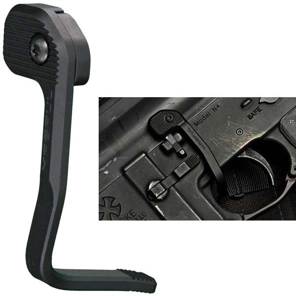 Magorui Tactical Enhanced Bad Lever MAP Bolt Catch Extender Release Lever Ambidextrous Mount-On Side Plate 5.56/223