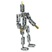 Cinespark SBA-12 12 cm bebê tipo não-pronto-feito de aço inoxidável diy parar movimento personagem fantoche armadura kit