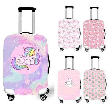 Pink Unicorn Luggage Protective Covers