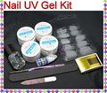 BTT-132 Pro Acrylic UV Gel French Nail Art False Tip DIY Kit Set