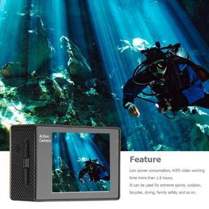 Image 4 - חדש F60R 4K WIFI מרחוק פעולה מצלמה 1080P HD 16MP 170 תואר רחב זווית 30m Waterproof ספורט DV מצלמה לgopro קידום