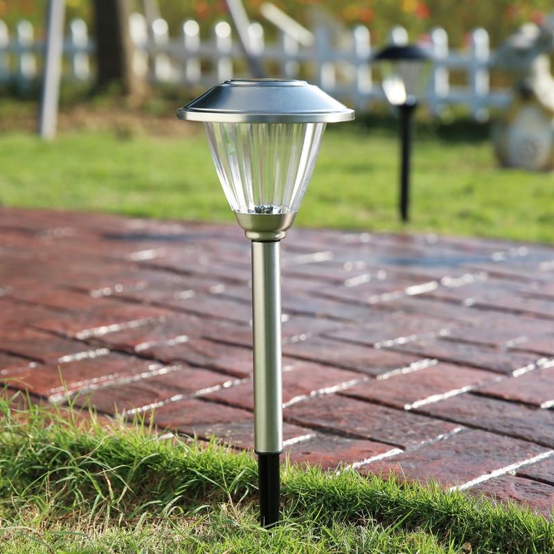 High Quality LED Solar Light Landscape Garden Decoration Lights Garden Path Lighting  Outdoor Lighting Solar