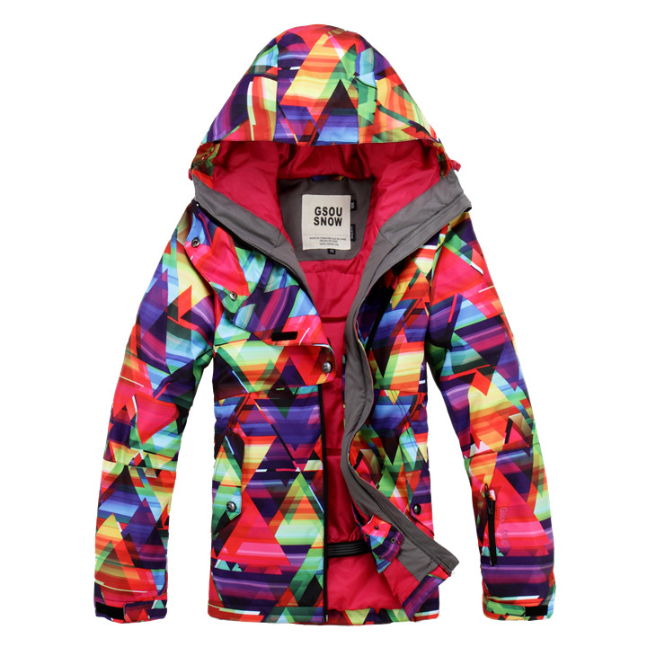 2017 Hot sale Gsou Snow High Quality womens Skiing Coats 10K Waterproof Snowboard Clothes Winter Snow Jackets Outdoor Costume chiller cw 3000 cw 5200 water pump voltage 24v dc power 30w flow rate 8 5l min head 8 meter