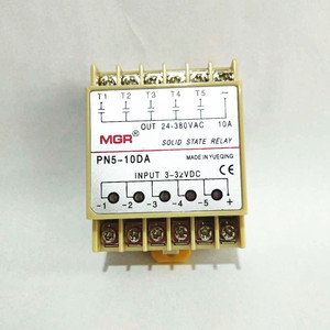 Image 5 - 10DA Din Rail montage SSR 5 canaux quintupliquent cinq entrées 3 ~ 32VDC sortie 24 ~ 380VAC cc relais à semi conducteurs
