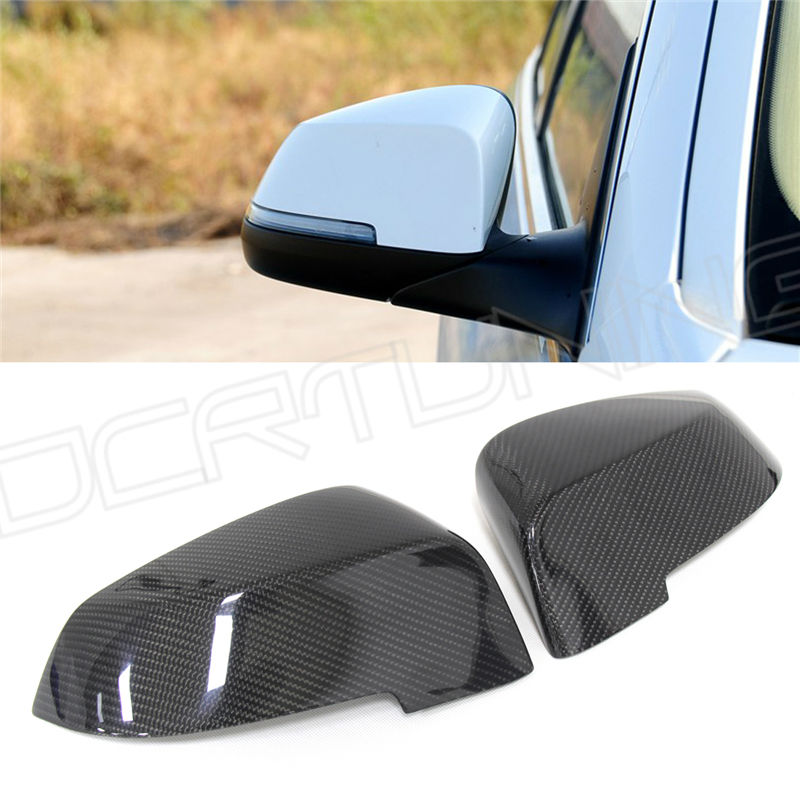 Replacement style & Add On Style Carbon Fiber Rear View Mirror Cover For BMW 5 Series F10 520i 528i 535i 518d 2014 2015 2016