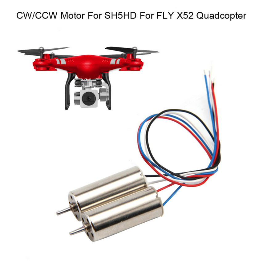 Motor Accessories for Drone 1 Pair SH5HD RC Quadcopter Spare Parts CW/CCW Motor MAY 28
